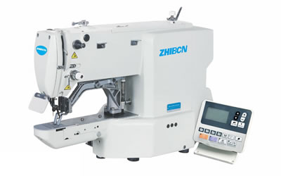 ZB-430H-03/05 Electronic Direct Drive Lockstitch Bar Tacker Sewing Machine